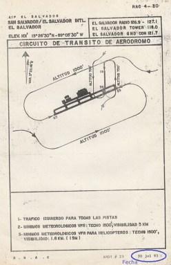Imagen 1. Circuito aéreo MSLP 1993