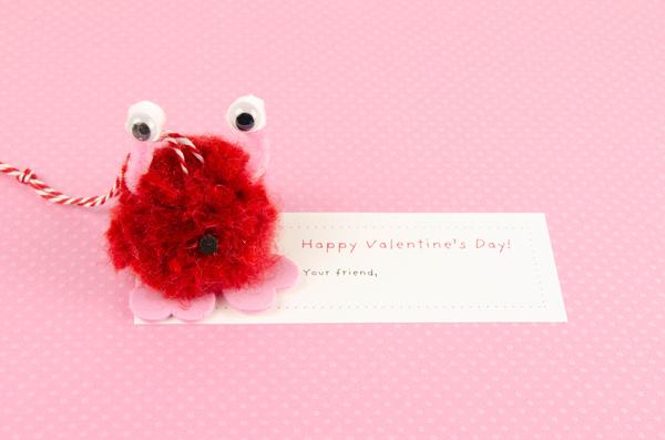 Pompom Pet Valentine Bug