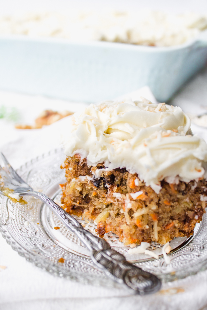 Carrot Cake With Cream Cheese Frosting Sheet Cake decorating