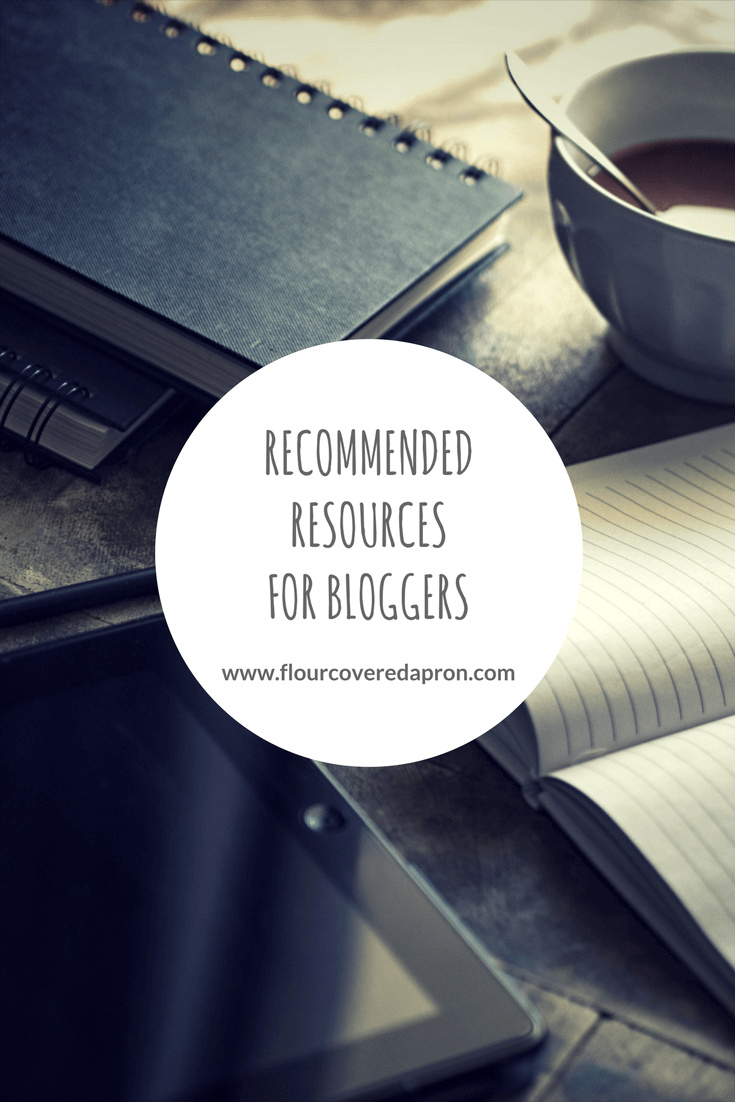 Recommended Resources for Bloggers