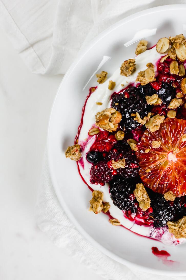 Blood Orange and Yogurt Breakfast Bowls - Flour Covered Apron