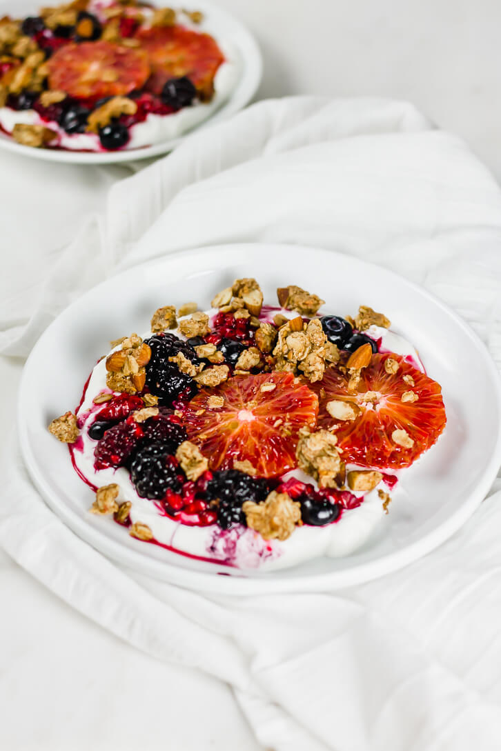 Blood Orange and Yogurt Breakfast Bowls