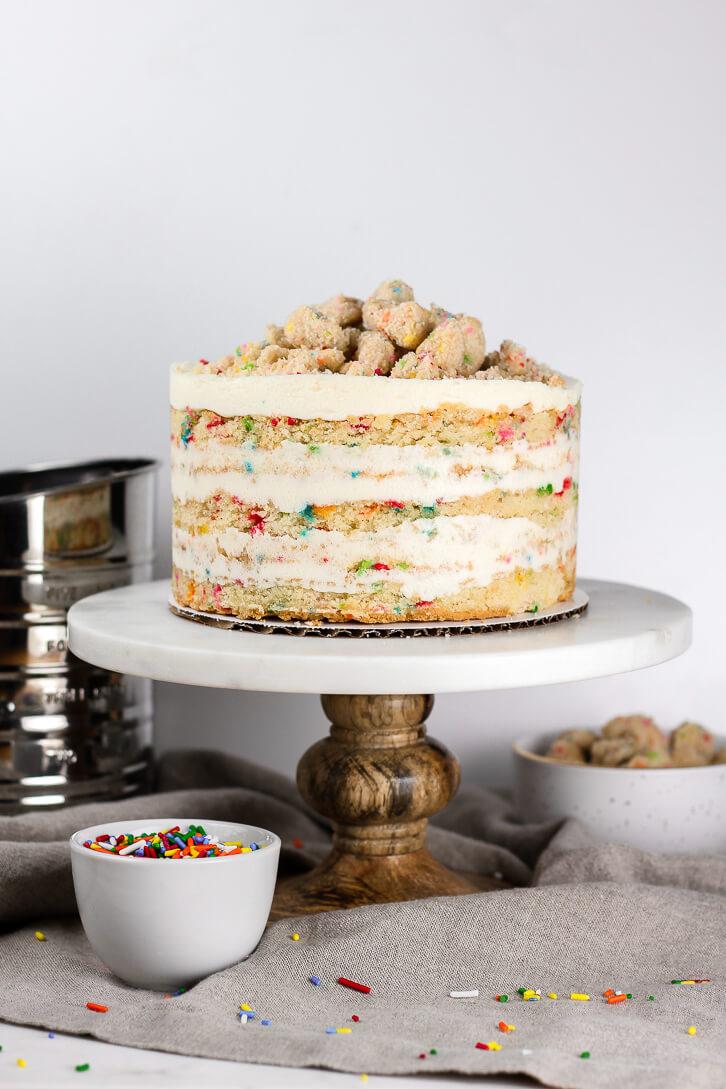 Copycat Milk Bar Birthday Cake Recipe Flour Covered Apron