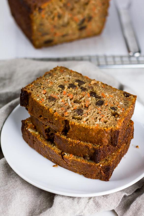 Whole Wheat Carrot Bread - Flour Covered Apron
