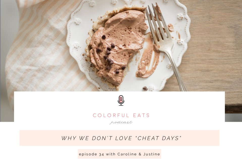 "Colorful Eats Podcast Episode 34: Why We Don't Love ""Cheat Days"""