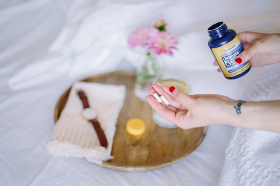 Morning Rituals with Renew Life Probiotics by Colorful Eats