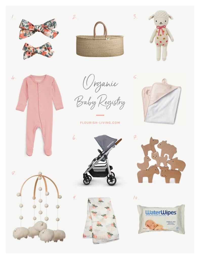 Organic Baby Registry   Flourish by Caroline Potter, NTP