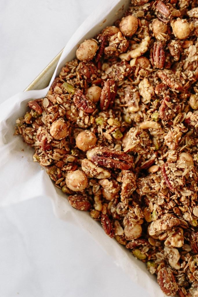 Gluten-Free, Low Sugar Granola | Flourish Blog