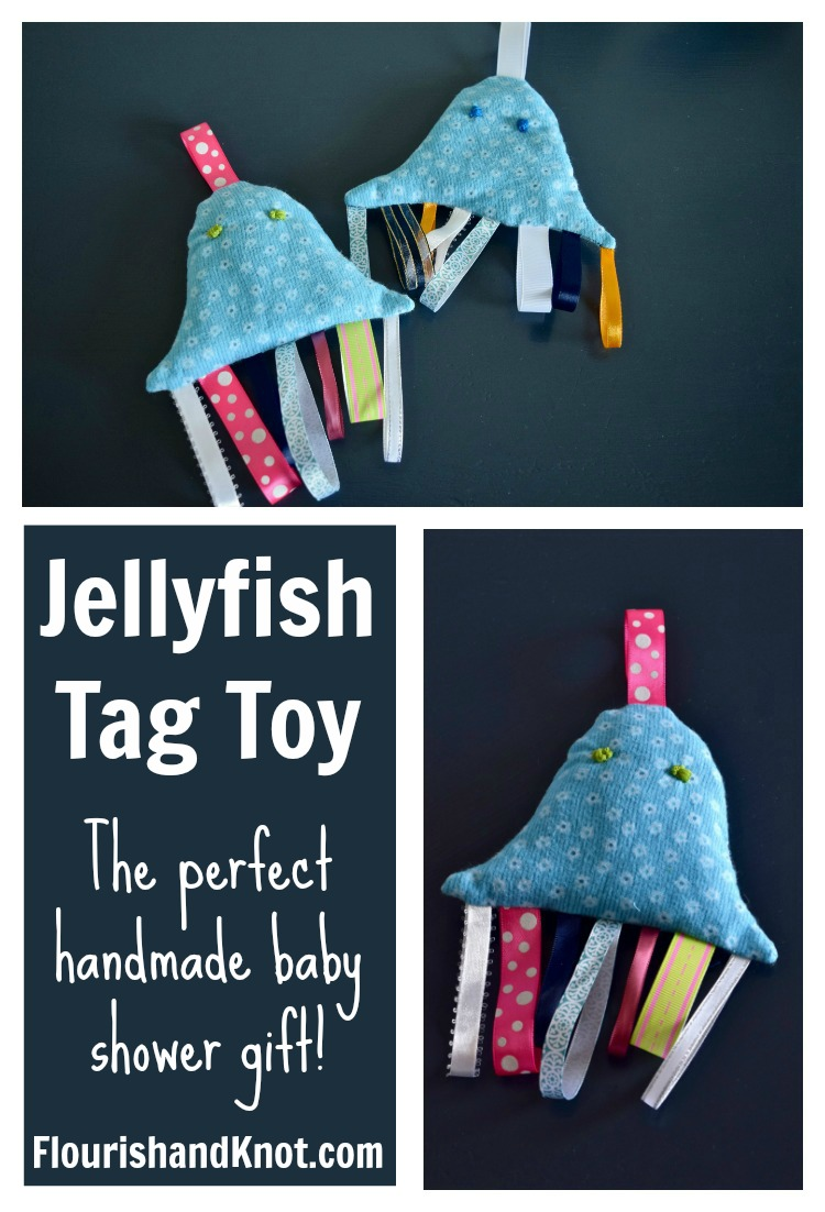 Homemade Christmas Gifts: Jellyfish Tag Toy