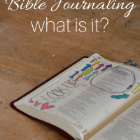 Bible Journaling - What is it?