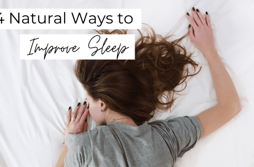 4 Natural Ways to Improve Sleep