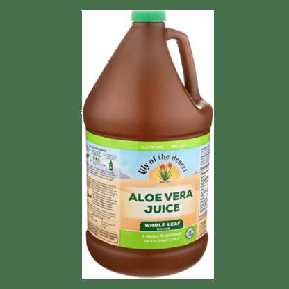 Lily Of The Desert Organic Aloe Vera Juice bottle