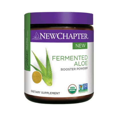 new chapter fermented aloe powder cannister