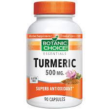 botanic choice organic turmeric bottle