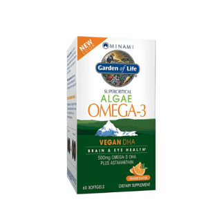 garden of life vegan omega 3 package
