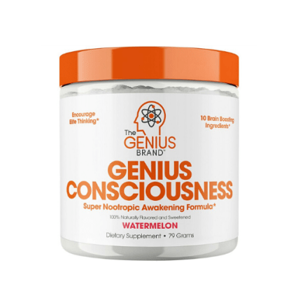 genius consciousness brain nutrients container