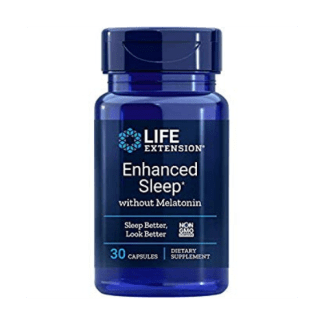 life extension enhanced sleep with melatonin bottle