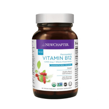 new chapter vegan vitamin b12 bottle