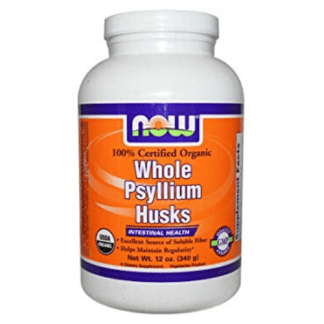 now foods organic whole psyllium husks cannister