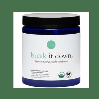 ora organic break it down container