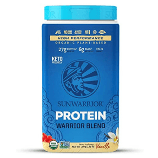Sunwarrior Warrior Blend Vanilla Plant-Based Protein Powder