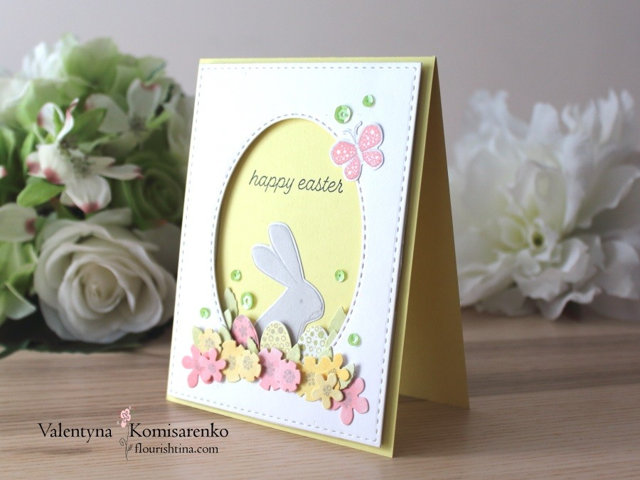 Easter Bunny Card, PTI