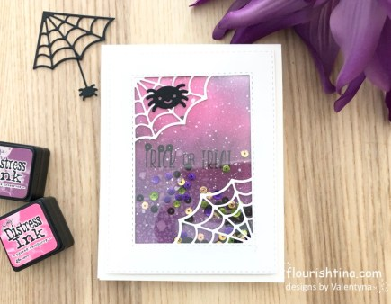 Trick or Treat Card by Flourishtina