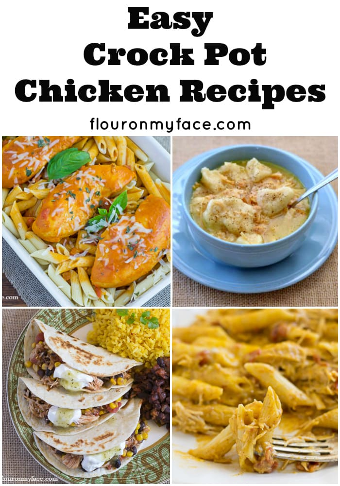 Crock Pot Chicken and Rice - Flour On My Face