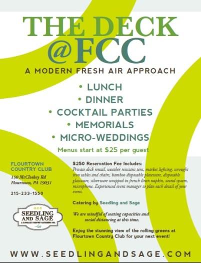 2020 Deck Party Flyer