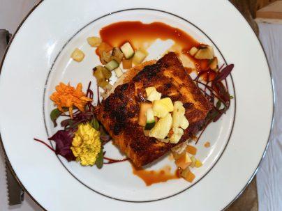 Achiote Salmon full portion