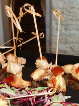Rosemary Waffle & Fried Chicken Lollipops