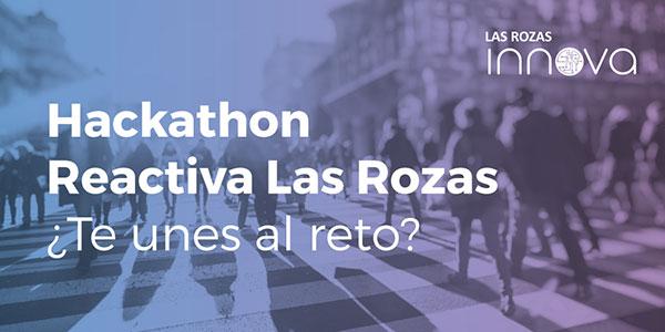 Hackathon Reactiva Las Rozas – 6 de febrero #ReactivaLRZS