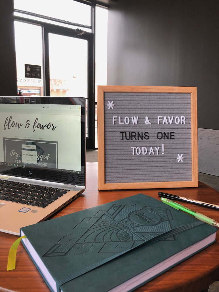 Flow & Favor Turns One!