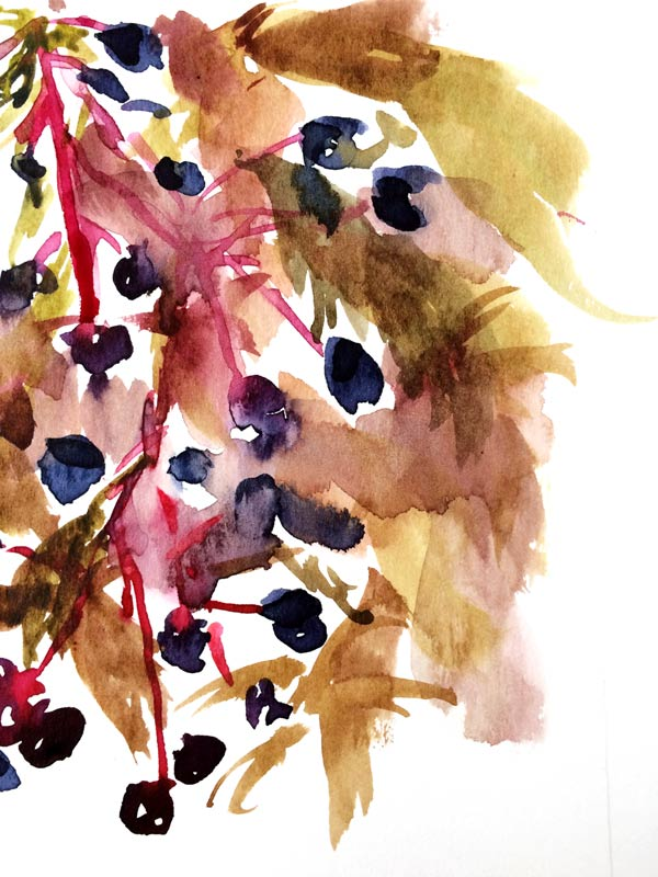 Autum Watercolors Flow Arte