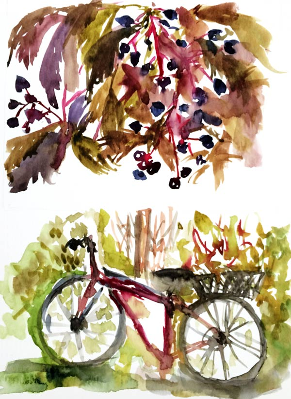 Autumn Watercolors Flow Arte