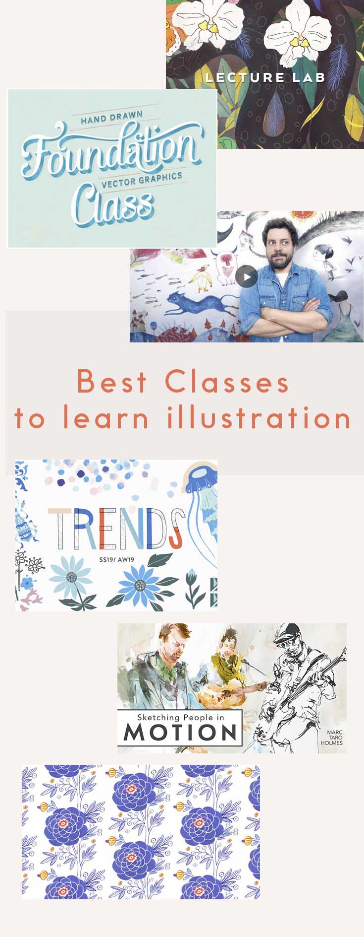 Best illustration classes curated by FlowArte