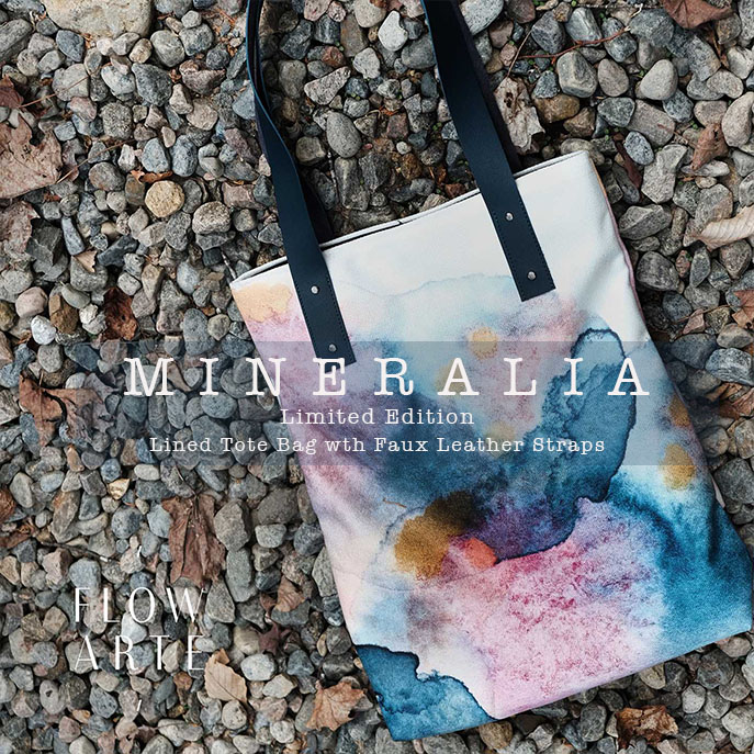 Mineralia Book Tote Bag