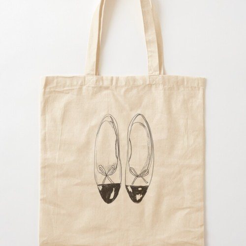 Cotton Tote Bag by Flowarte