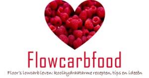 Logo flowcarbfood: koolhydraatarme recepten, ideeën en tips