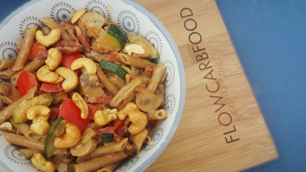 recept courgette champignons spekjes