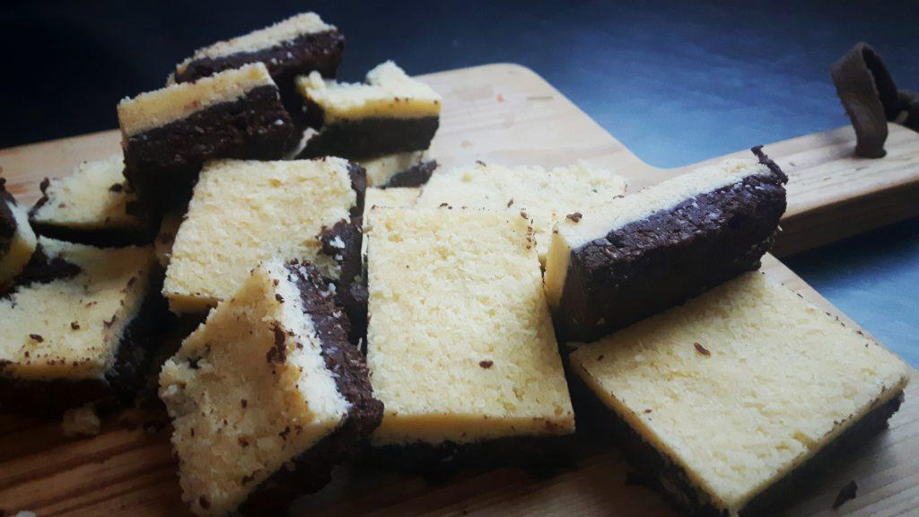 Koolhydraatarme bounty-brownies - flowcarbfood.nl