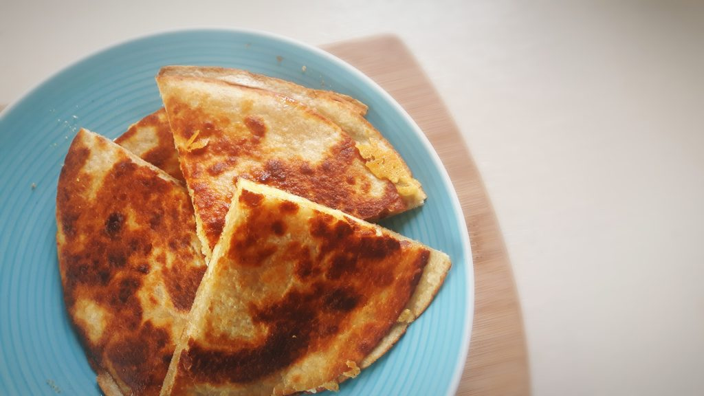 Koolhydraatarme quesadilla's - flowcarbfood.nl