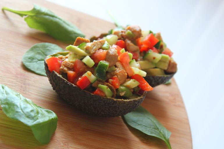 gevulde avocados