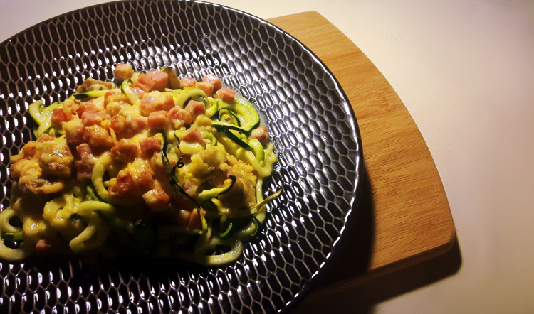 courgetti & cheese uit de oven