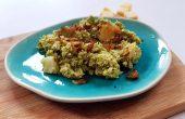 koolhydraatarme broccolistamppot met mosterd en kaas