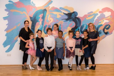 Ballroom & Latin children learning