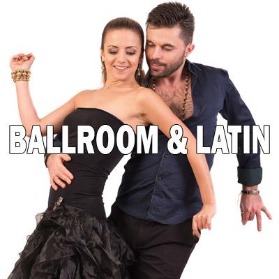 ballroom latin menu