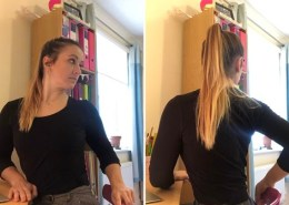 Office Yoga Spinal twist
