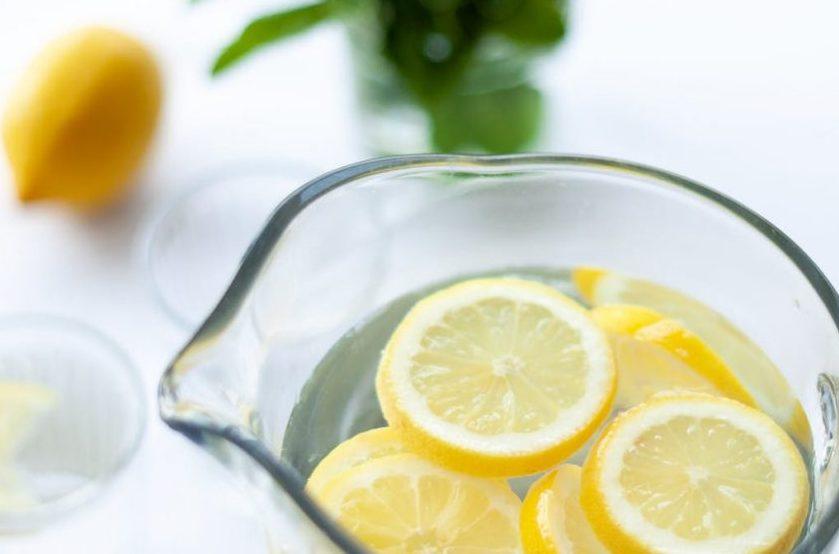is lemon water healthy