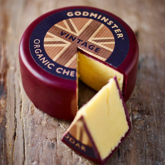 Godminster Vintage Organic 200g Truckle (Waxed)